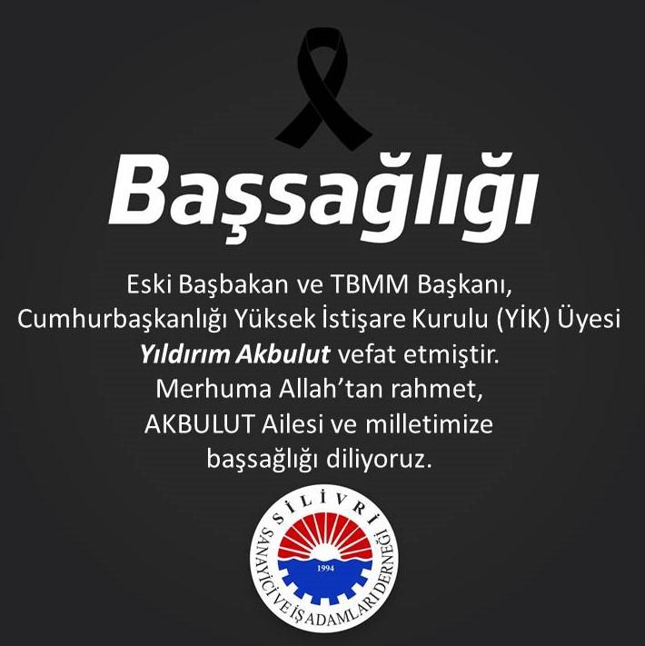 Eski Başbakan Yıldırım Akbulut'un Vefatı