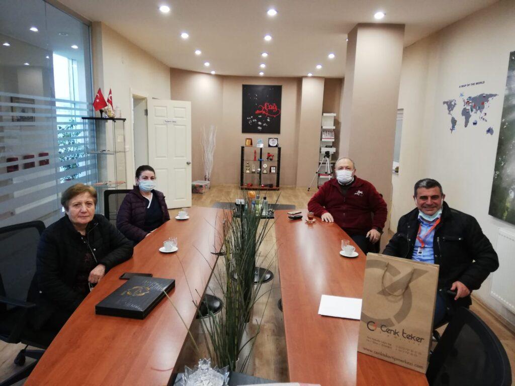 Cenk Teker Tıp Merkezi Yetkililerinin Ziyareti