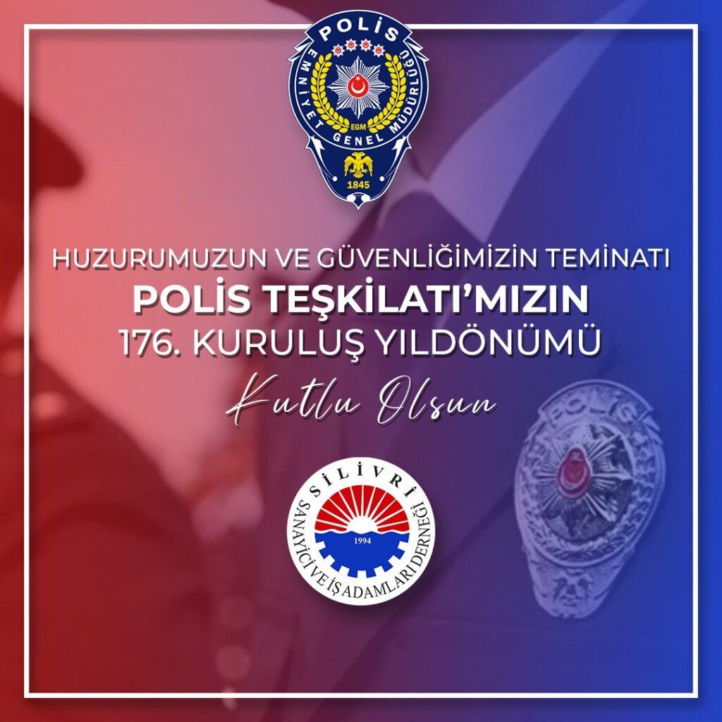 Polis Teşkilatımızın 176. Kuruluş Yıldönümü Kutlu Olsun