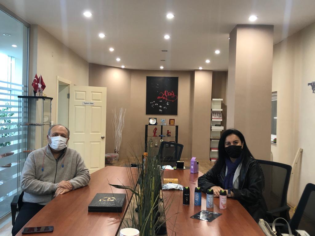 Sn.Elif Yılmaz Pacchi firması adına ziyarette bulundu.