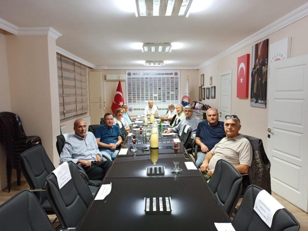 Eylül Ayı Yönetim Kurulu Toplantımız