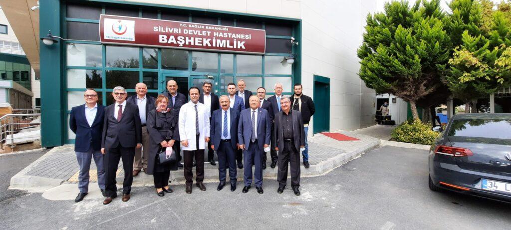 Silivri Devlet Hastanesi Başhekimi Soner Oflazoğlu'nu Ziyaret