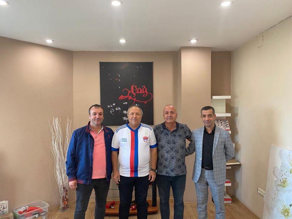 Silivrispor Yönetim Kurulu Üyelerinin Başkanımızı Ziyareti